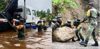 Protección civil atenta a lluvias en sureste