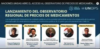 ONU, mejores compras de medicamentos en AL