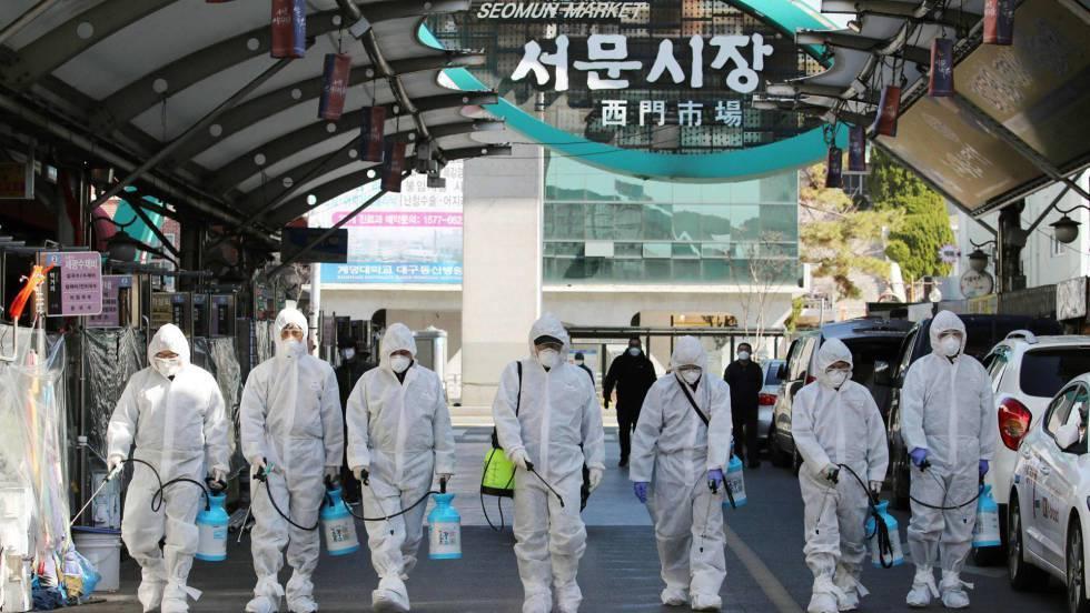 Encuentran una cepa de coronavirus más infecciosa en Corea del Sur