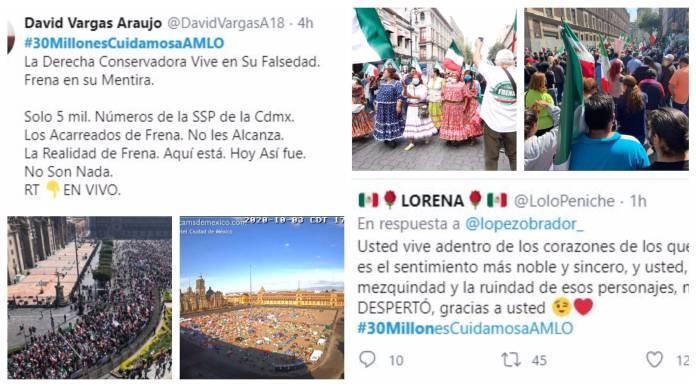 respaldo amlo scaled - Tras marcha de FRENAAA, respaldan al presidente #30MillonesCuidamosaAMLO
