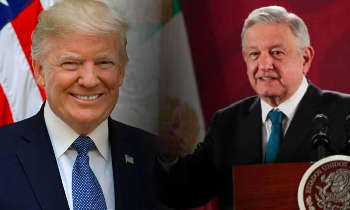 AMLO Trump3 - Trump otra vez llena de elogios a López Obrador