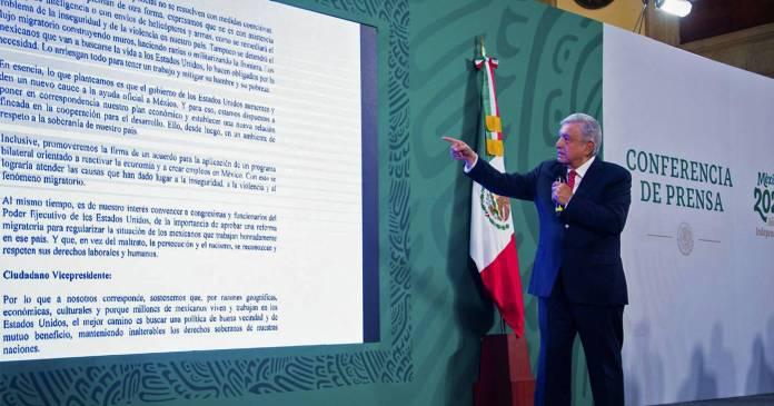 AMLO espera que Biden otorgue ciudadanía a mexicanos migrantes en EU