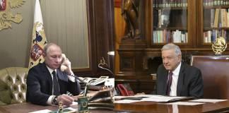 AMLO y Putin conversarán vía telefónica sobre vacunas rusas para México