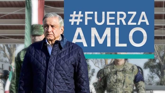 #FuerzaPresidente México se une en redes para mostrar su afecto a AMLO
