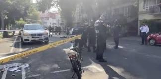 Balacera en la colonia Nápoles deja un muerto y dos heridos