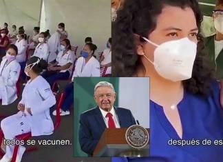 Inicia vacunación covid-19 para personal de hospitales privados, anuncia AMLO