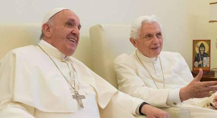 PAPA francisco y benedicto XVI  - El Papa Francisco y Benedicto XVI ya recibieron la vacuna contra Covid-19