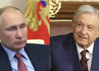 Vladimir Putin y embajada rusa desean pronta recuperación a AMLO