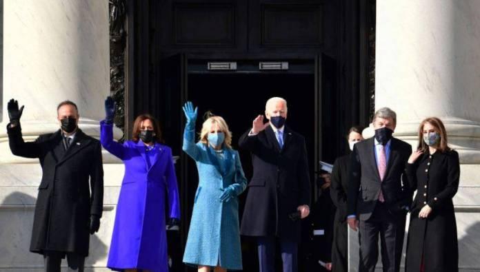 Joe Biden recibió la investidura presidencial de EU