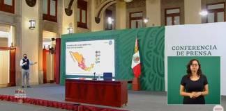 Campeche regresa a semáforo amarillo; hay 13 estados en rojo por Covid-19