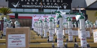 Prestarán tanques de oxígeno en Contreras y Venustiano Carranza