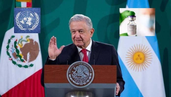 La ONU parece florero; tiene que hacer valer el acuerdo por las vacunas: AMLO