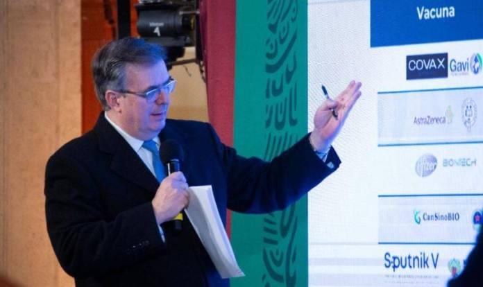 México tiene garantizadas las vacunas para todos: Ebrard
