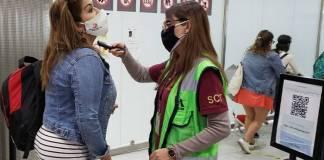 De acuerdo con la Secretaría de Comunicaciones y Transportes, los módulos de los laboratorios fueron promovidos por aerolíneas