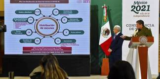 Inicia distribución por México de 870 mil vacunas para mayores de 60 años
