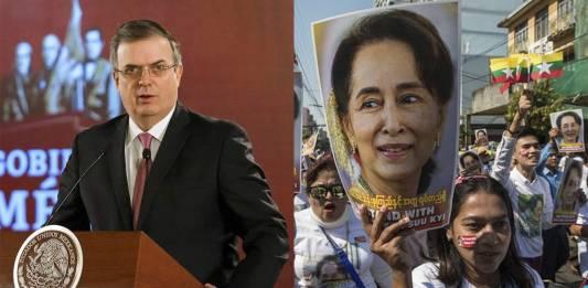 México condena la detención de líderes políticos en Myanmar (Birmania)