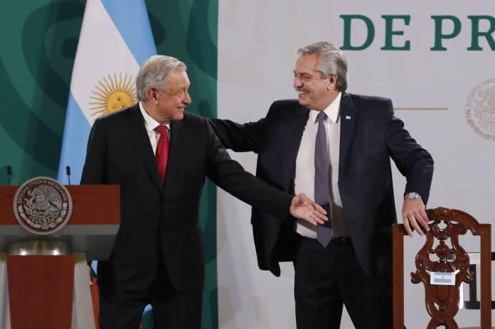 AMLO y Fernández acordaron la modernización de la relación económica entre Argentina y México
