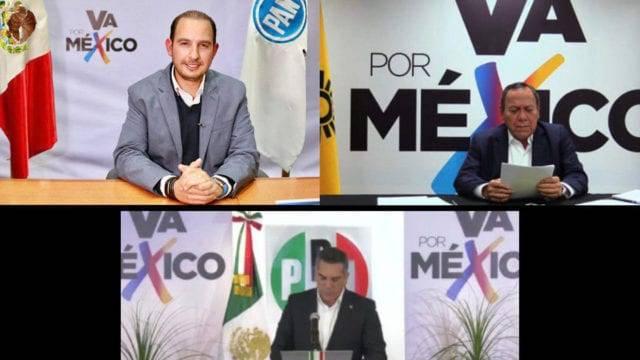 """coalicion 640x360 1 - """"Va por México"""" se olvida de los ciudadanos; diputaciones para los mismos de siempre"""