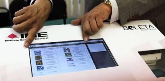INE define lineamientos de urnas electrónicas para este año