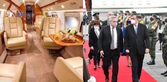 Presidente de Argentina viajó a México en el avión de Messi