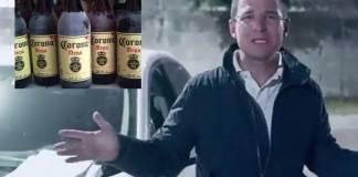 Usuarios critican a Ricardo Anaya por meterse con las caguamas