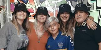 Fortuna de Maradona se repartirá entre sus cinco hijos