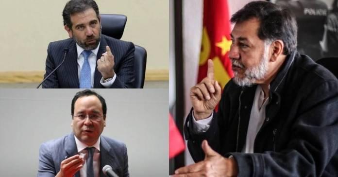 Noroña dice que Murayama y Córdova deben de ser destituidos del INE