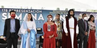 Otra Semana Santa virtual en Iztapalapa