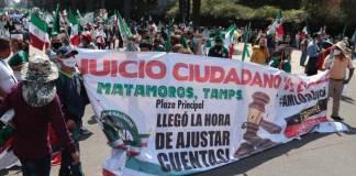FRENAAA realiza juicio contra AMLO por corrupción y mal manejo de la pandemia