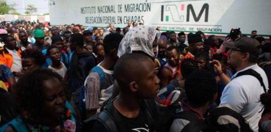 Reunión México-EU para definir política migratoria