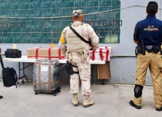 Decomisan 3.9 mdp en Aduana de Tijuana