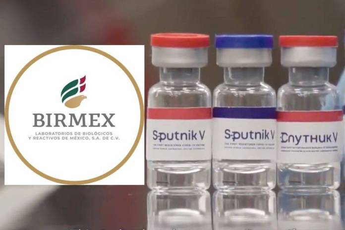 Birmex envasará al año 90 millones de vacunas Sputnik V