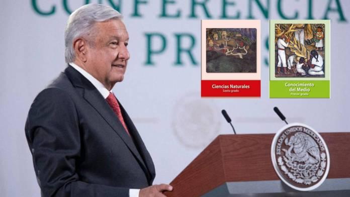 AMLO confirma que se modificará contenido de libros de texto gratuitos