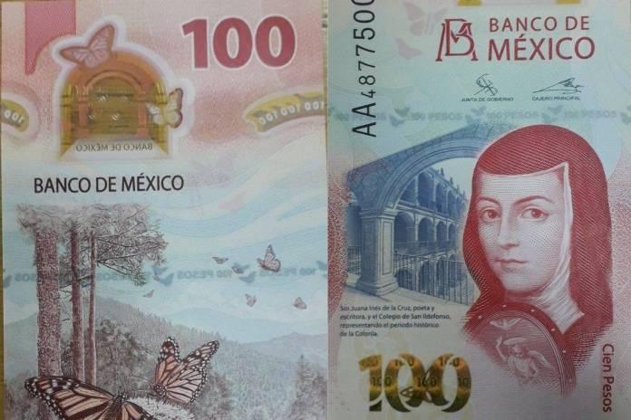 El billete de 100 pesos se lleva el premio al mejor del año