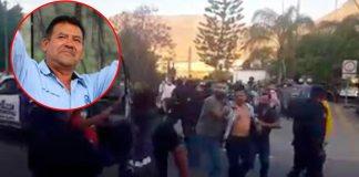 Alcalde aprueba obra luego de que lo intentan linchar en Guanajuato