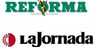 """La Jornada reta a Reforma: """"Pues platíquenos de NXIVM"""""""
