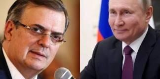 Ebrard pide apoyo a Rusia para conquistar el espacio