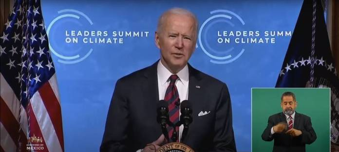 EU emitirá cero gases de efecto invernadero en 2050: Biden