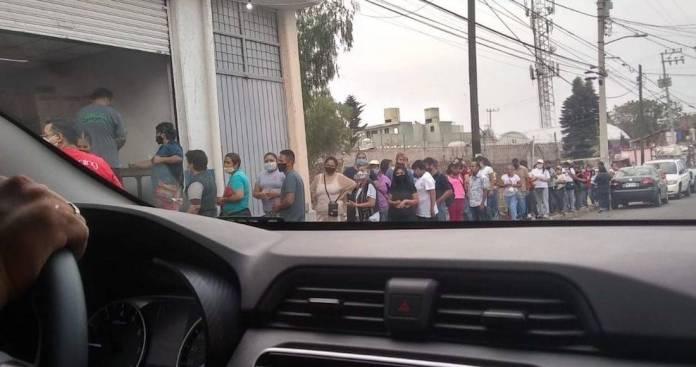 Captaron con las despensas en las manos a los priístas de Ecatepec