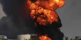 Se registra explosión en la refinería de Lázaro Cárdenas en Veracruz