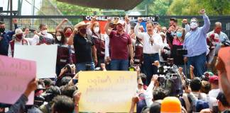 Salgado Macedonio descarta amenazas contra Lorenzo Córdova