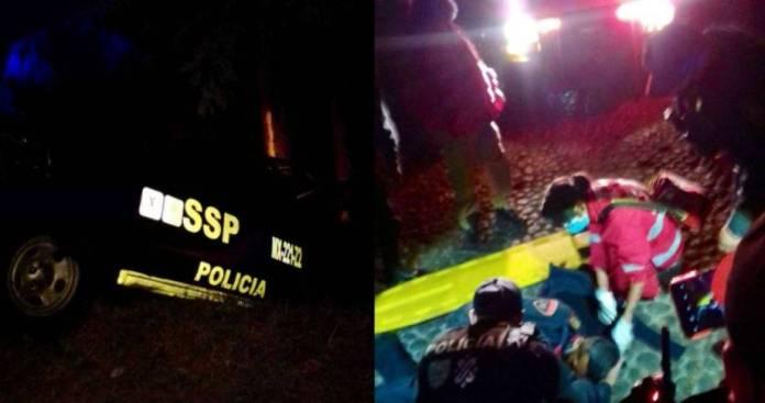 Policía muere atropellado por su propia patrulla en Cuajimalpa