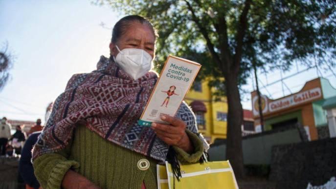 Cerca de 500 mil adultos mayores no se vacunaron