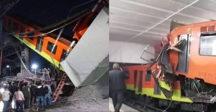 Los dos accidentes más violentos en los últimos años del Metro.