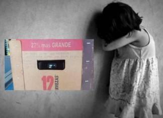 Con mensaje en cartón de cervezas, niña denuncia maltrato en Coahuila