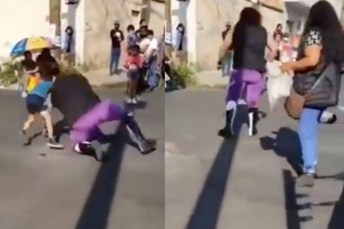 Luchador agrede a un niño y lo lanza durante función (vídeo)