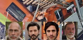 Comunidad cinematográfica reaccionan ante la tragedia de la Línea 12 del Metro