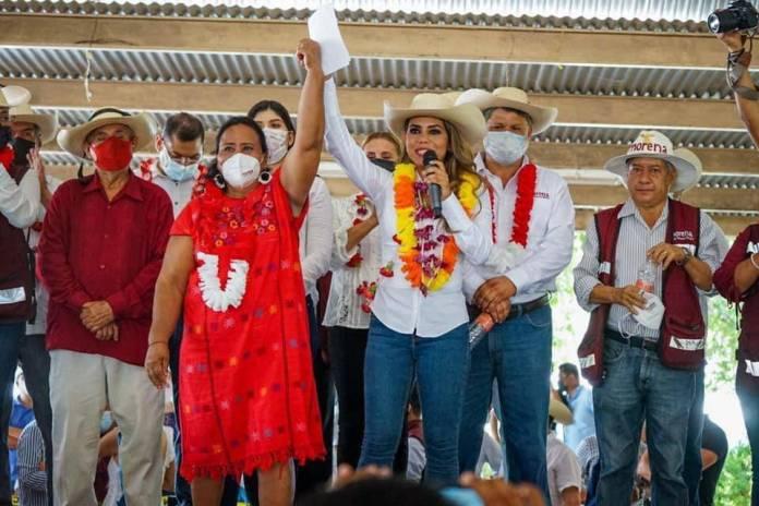 Evelyn Salgado mayor presupuesto para el desarrollo de la Tierra Caliente - Candidata de Morena en Guerrero renuncia por amenazas