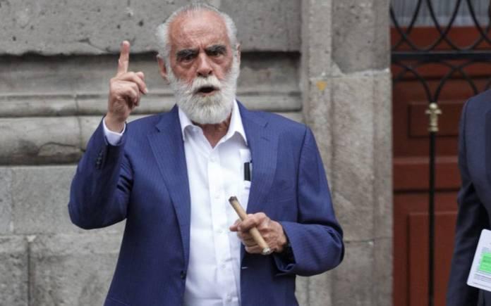 Fernández de Cevallos denuncia a López Obrador ante la FGR