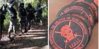 Grupo policíaco en Puebla se promociona con rap y con disparos al aíre